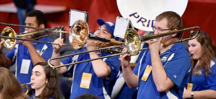 Support The Hofstra Pep Band